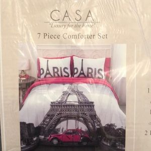 Other - Paris Bed in a Bag Comforter Set